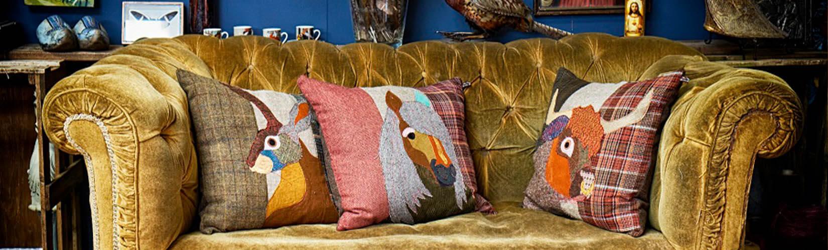 Carola Van Dyke - The Textile Taxidermy Home Decor Trendsetter: Brand Focus