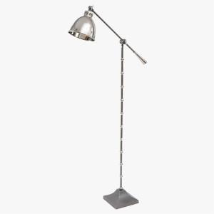 Libra Floor Lamp Miro Satin