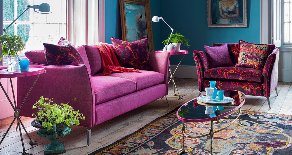 Top 2018 Trends - Bold Sofas