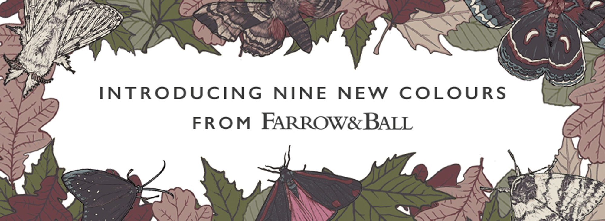 New Colours 2018 | Farrow & Ball