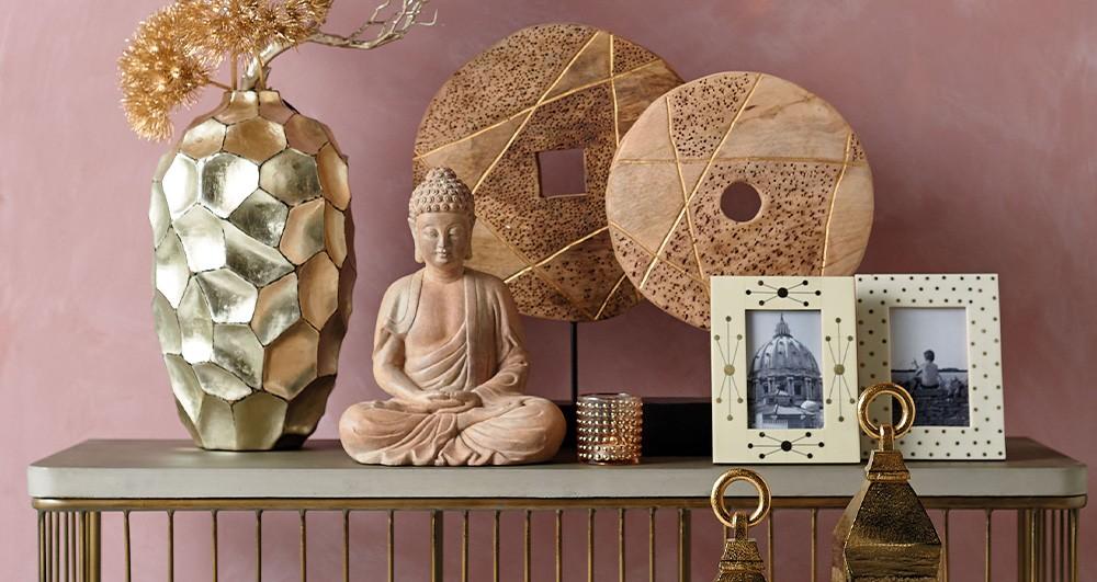 2018 Interior Design Trends - Pink & Gold