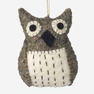Parlane Christmas Tree Decoration Tawny Owl