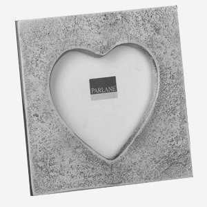 Parlane Photo Frame Heart Silver