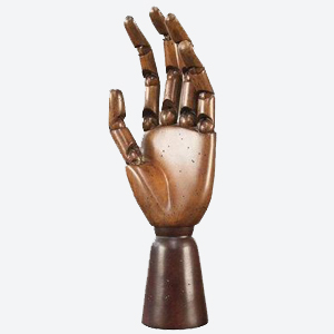 Authentic Models Artist's Articulated Hand