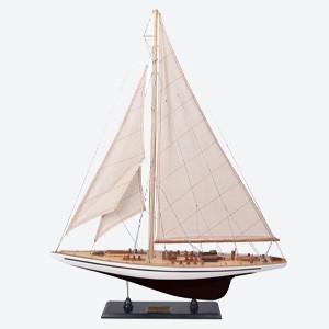 Authentic Models Endeavour Yacht Model