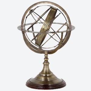 Eichholtz Globe in Brass