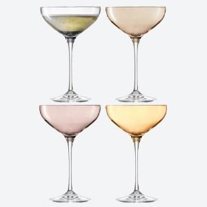 Lsa International Polka Champagne Saucer Set