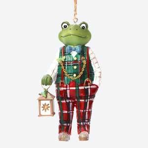 Gisela Graham Mr Frog Christmas Tree Decoration