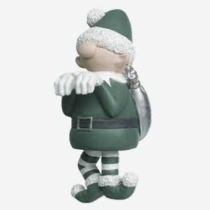 Parlane Christmas Pothanger Elf Green