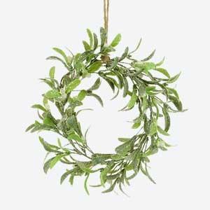 Artificial Mistletoe Wreath