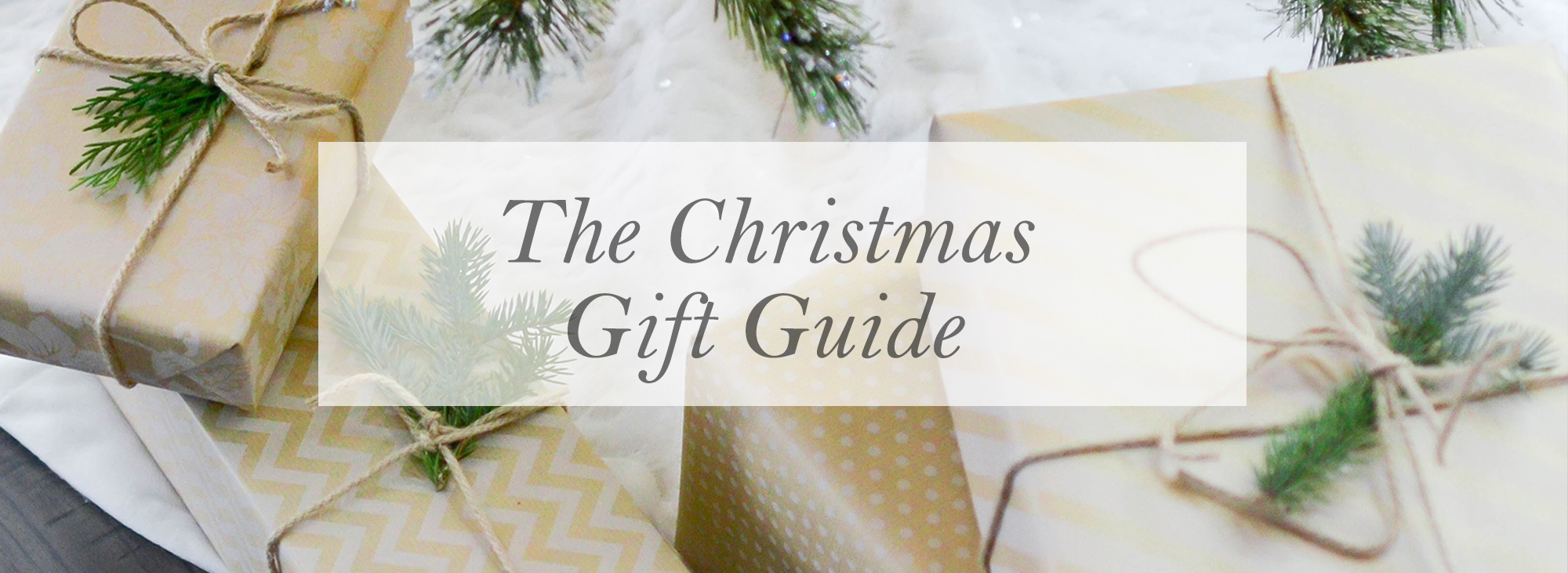 No Time Like the Present | Christmas Gift Guide