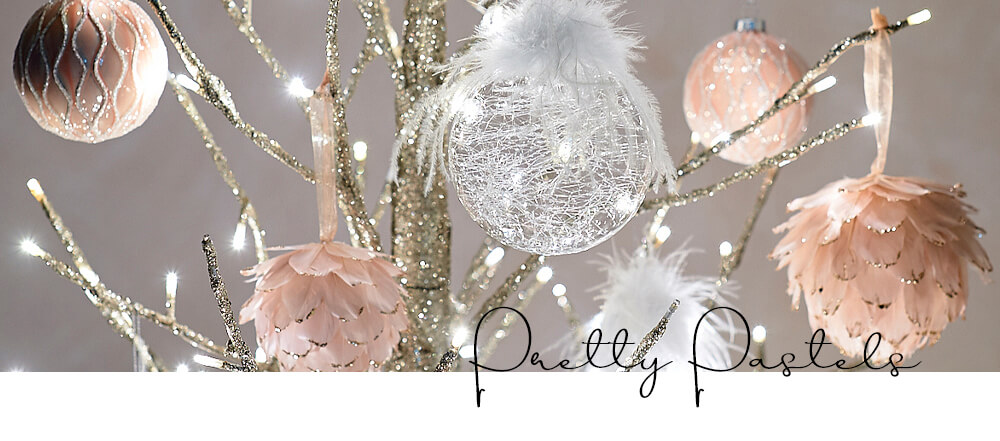 Christmas Decorating Trends 2020 - Pretty Pastels