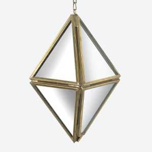 Parlane Prism Hanging Silver