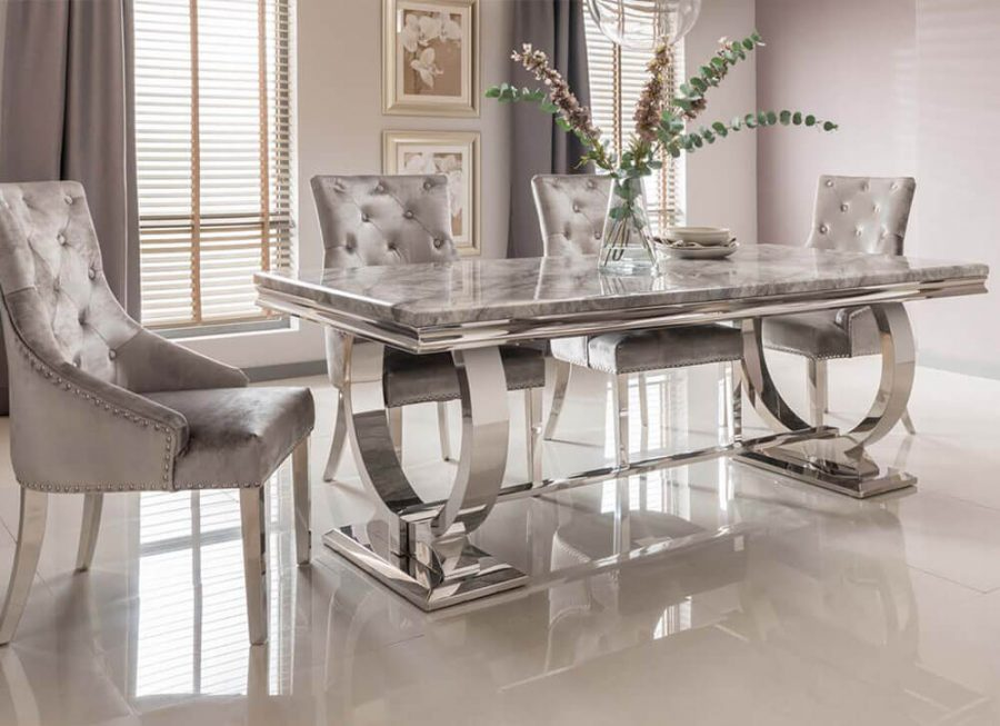 Grey Dining Tables and Chairs