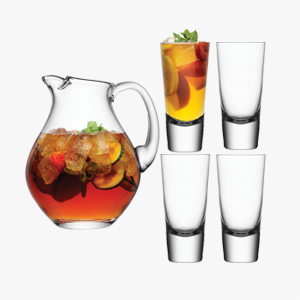 LSA Bar Punch Jug Set