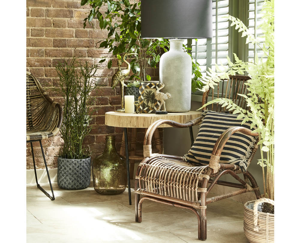 Summer Decorating Ideas - No.4 Refresh with Rattan