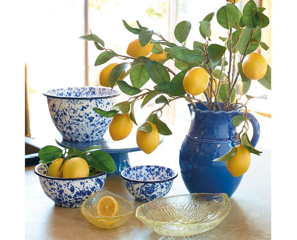 Summer Decorating Ideas - No.3 Zingy Citrus