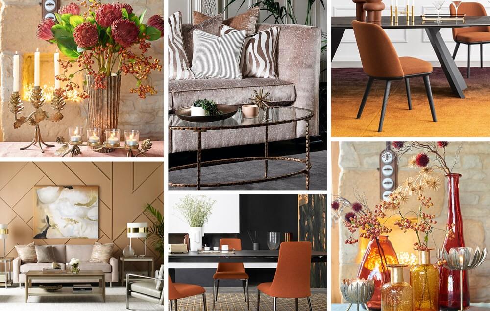 Autumn Golds Interior Trend