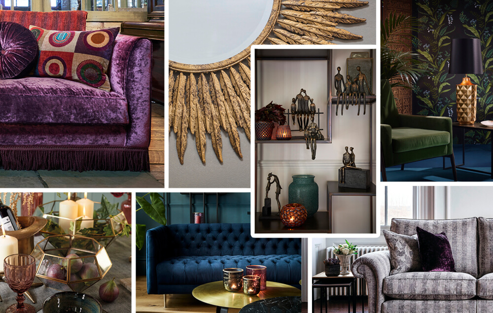 Rich And Bejewelled Interior Trend
