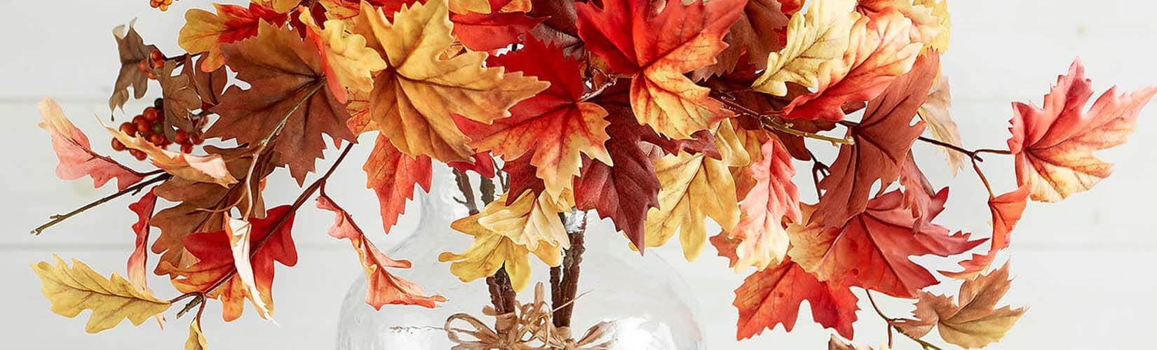Autumn Flowers & Flower Accessories To Suit The Season