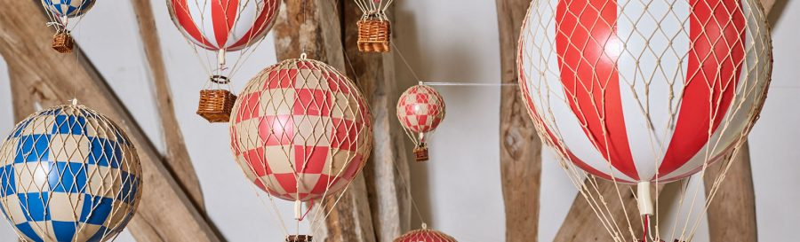 Our Best Selling Model Hot Air Balloons & How To Style Them