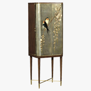 Jonathan Charles Hand Painted Drinks Cabinet