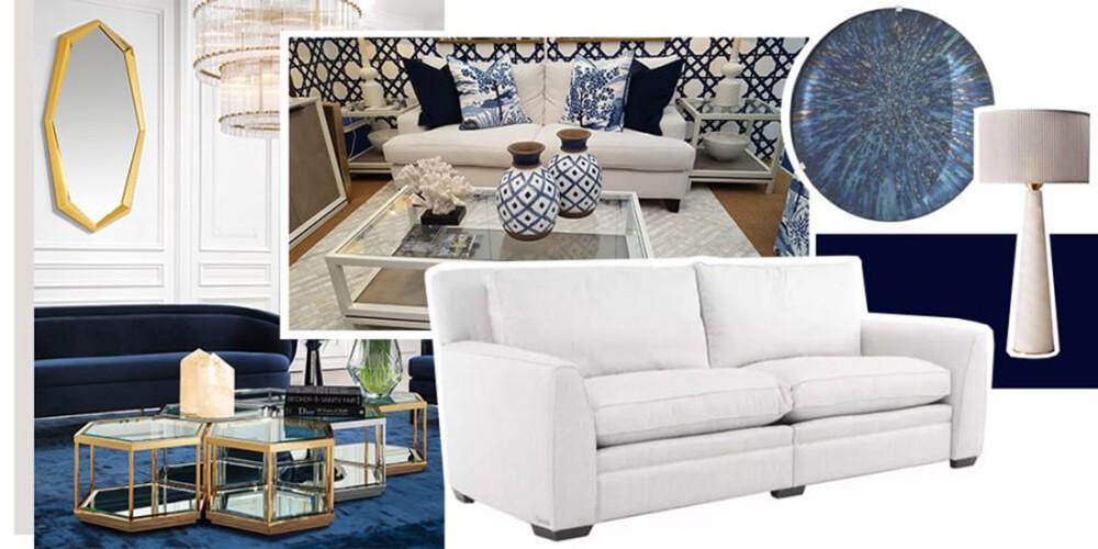 Autumn Interior Design - Blue to Beat the Blues