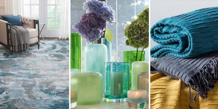 Autumn Winter Interior Trends 2019 - Blue to Beat the Blues