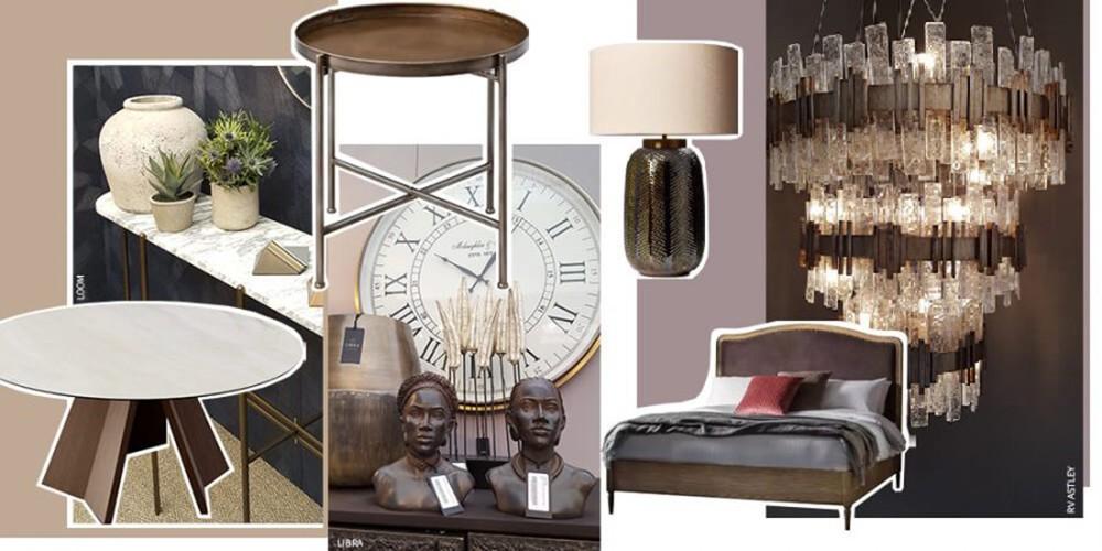 Autumn Interior Trends - Warm Neutrals with Bronze