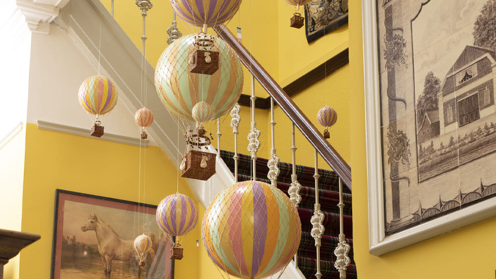 Authentic Models hot air balloons