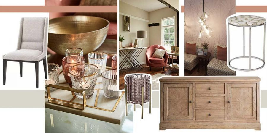 Autumn Interior Design - Soft Minimalism with Hints of Pink