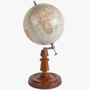 Authentic Models Rmn 19th Century Globe
