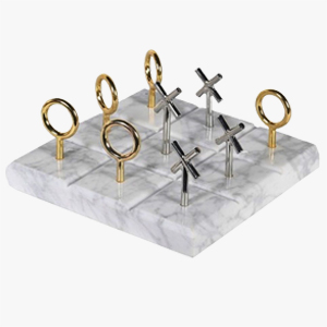 Pavilion Chic Noughts & Crosses Ornament