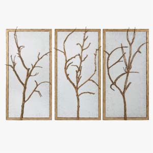 Theodore Alexander Wall Mirror Hawthorn Trio