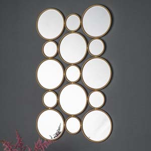 Pavilion Chic Sherwood Multi Circle Mirror