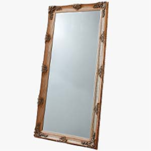 Pavilion Chic Baines Large Baroque Floor Mirror