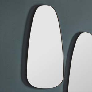 Pavilion Chic Flow Contemporary Wall Mirror