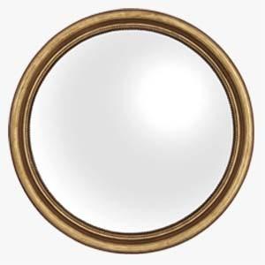 Eichholtz Verso Gold Convex Mirror