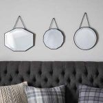 Pavilion Chic Hanging Wall Mirror Set of 3 Eris
