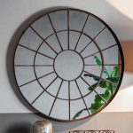 Pavilion Chic Folly Round Window Mirror