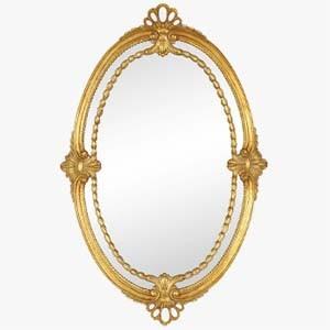 Jonathan Charles Wall Mirror Adam Style