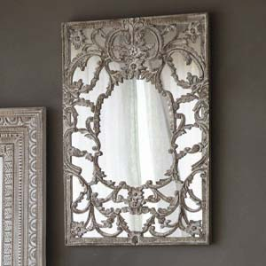 Pavilion Chic Elegant French Ornate Mirror