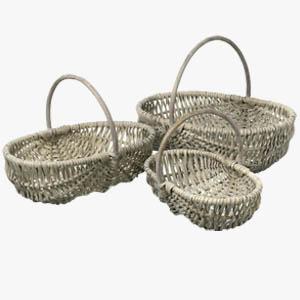 Parlane Trug Basket Willow Set of 3