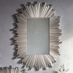 Pavilion Chic Union Silver Starburst Mirror