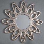 Pavilion Chic Pockhill Silver Starburst Mirror