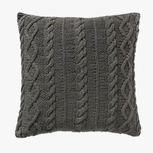 Pavilion Chic Cable Knit Cushion Santo