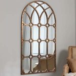 Pavilion Chic Chalford Arched Window Wall Mirror