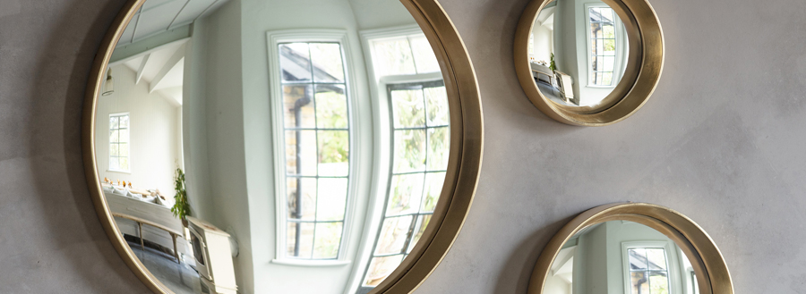 Modern Mirror Designs - Convex Mirrors