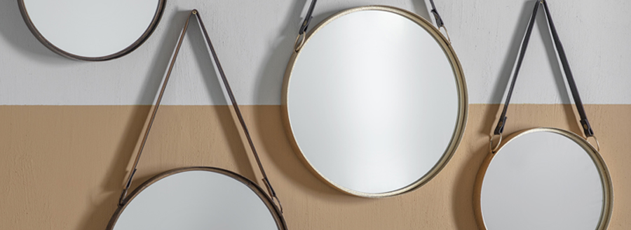 Modern Mirror Designs - Hanging Mirrors