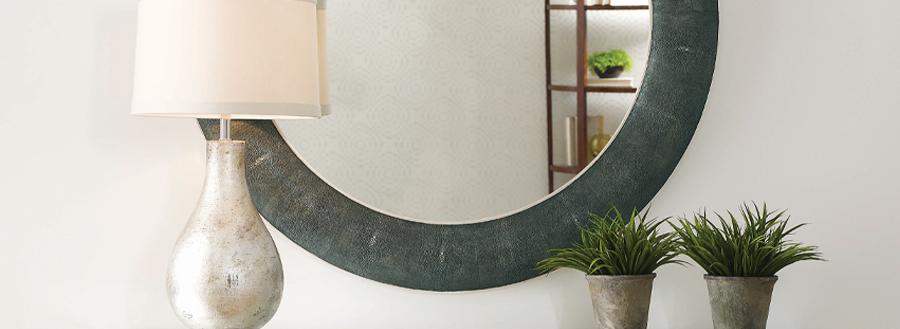 Modern Mirror Designs - Shagreen Mirrors